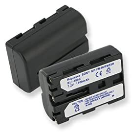 Sony DSCF707 Video Camera Battery, Li-Ion 7.2V 1400mA