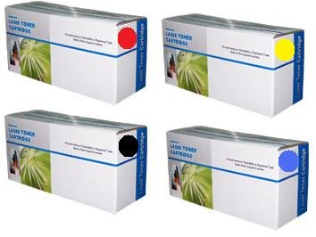 4 Toner kompatible für HP Color Laserjet 1600 2600 2605 CM1015 CM1017