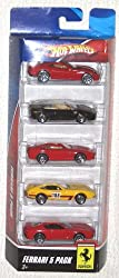 Hot Wheels FERRARI 5-Car Gift Pack 2009 Dealer Exclusive