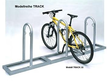 """Fahrradständer Bügelparker für 8 Fahrräder /""""Aufstellen fertig/"""" Modell 1058"""