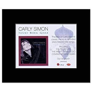 Carly Simon Never Been Gone Review