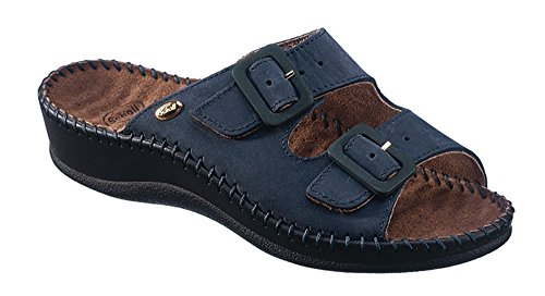 Dr Scholl' S Weekend Nubuck W Navy Blue 37