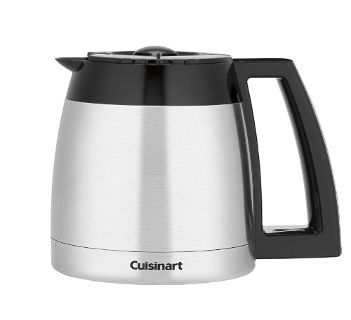 Cuisinart DCC-2400RC 12-Cup Stainless Thermal Carafe, Black, Garden, Lawn, Maintenance