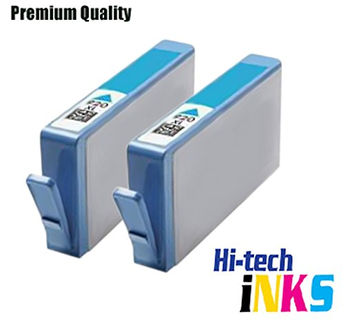 Compatible HP 364XL (With APEX Chip/with ink level) Ink Cartridges Replacement for Photosmart 5510, 5511, 5512, 5514, 5515, 5520, 5522, 5524, 6510, 6512, 6515, 6520, 7515, B010a, B109a, B109d, B109f, B109n, B110a, B110c, B110e, Photosmart Plus B209a, B209c, B210a, B210c, B210d, Deskjet 3070A, 3520, 3522, 3524, Officejet 4610, 4620 | High Capacity 2 Cyan Cyan,