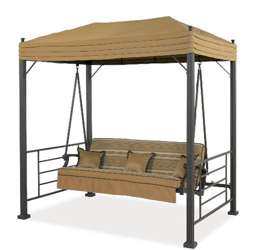 Garden Winds Replacement Canopy For Sonoma Swing RipLock