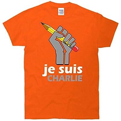 Je Suis I Am Charlie Fist T-Shirt