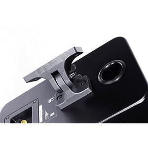Roth Audio OLI RA2 5.25 inch 2 Way Pair Of Bookshelf Design Speakers - Black