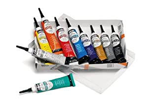 Pebeo vitrea 160 glass paint outliner set for Pebeo vitrea 160 glass paint instructions