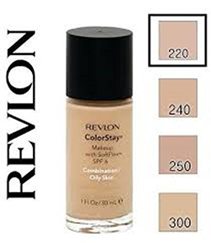Revlon ColorStay Makeup Foundation for Combination/Oily Skin - 30 ml, 220 NATURAL BEIGE
