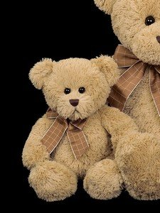 Bearington Bear Baby Bensen Light Brown Teddy