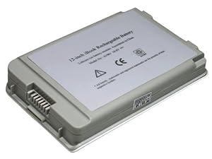 """4400MAH 10.8V 6 cellules Batterie de Laptop (remplacement)pour Apple iBook G4 12"""",G3 12"""", Compatible avec 661-2472, 6612472, 8403, A1008, A1061, M8403, M8433, M8433G, M8433GA, M8433G/A, M8433GB, M8433G/B, M8626GA, M8626G/A, M8956, M8956G, M8956GA, M8956G/A, M8956J/A, M9337, M9337G, M9337GA, M9337G/A, Argent"""