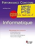 Informatique 1re année MPSI, PCSI, PTSI...