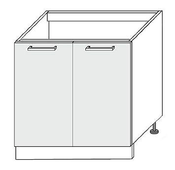 k chenschrank unterschrank sp le sp lenschrank 2 t rig 80 dc752. Black Bedroom Furniture Sets. Home Design Ideas