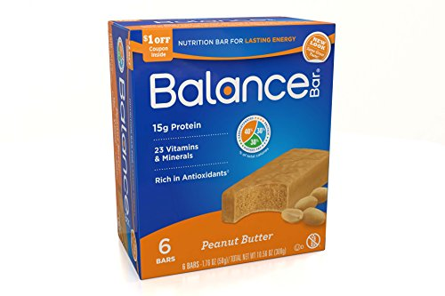 Balance Bar Peanut Butter, 6 count Value Pack
