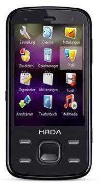 MaryCom SYMPHONY HRDA Mobil Telefon Handy 7,1 cm ( 2,8 Zoll ) Touchscreen in Schwarz + Gratis 30 Euro Mega Pack (Touchscreen, Kamera, Video, MP3-Player, Bluetooth) ohne Vertrag, ohne Branding, kein Simlock, Dual Sim ( Zwei SIMKARTEN Parallelbetrieb ) HRDA
