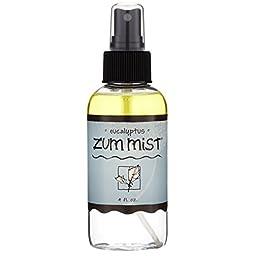 Indigo Wild Zum Mist Aromatherapy Spray, Eucalyptus, 4 Fluid Ounce