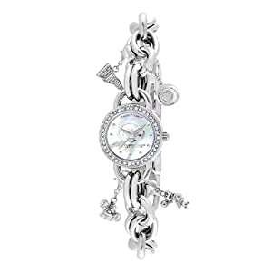 Game Time Women's COL-CHM-SMS Charm College Series Southern Mississippi State Collegiate 3-Hand Analog Watch