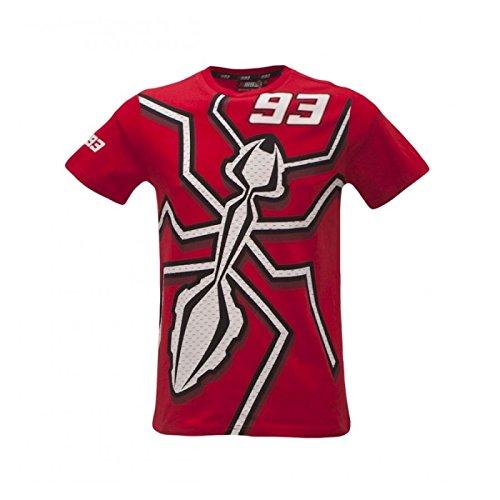 Marc Marquez Camicie e T-shirt sportive Mmmts156307 Red L