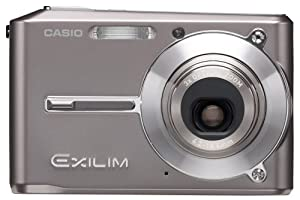 Casio Exilim EX-S500 5MP Digital Camera with 3x Anti Shake Optical Zoom (Grey)