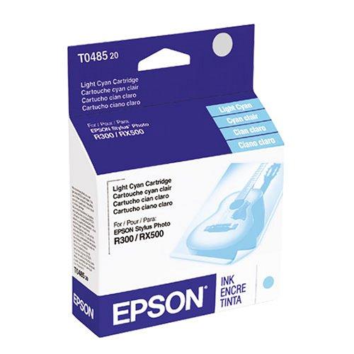 Epson T048520 48 Inkjet Cartridge-Light CyanB0000E2Y8M : image