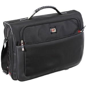 Gino Ferrari Titan 17'' Laptop Messenger Bag (Black)