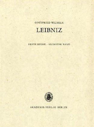 Gottfried Wilhelm Leibniz. Sämtliche Schriften und Briefe: 1690-1691