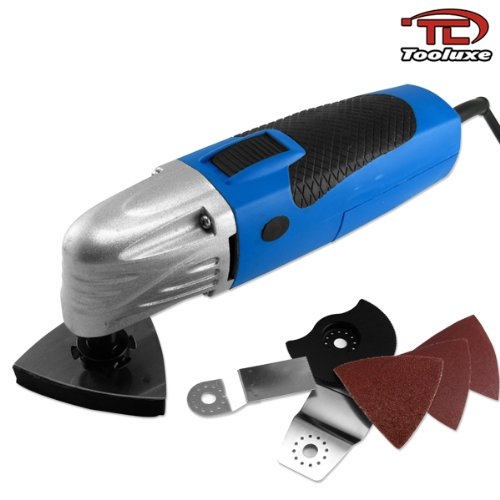 Images for Tooluxe Electric Power 3-in-1 Multifunction Power Tool for Sanding, Scraping, Cutting and more!