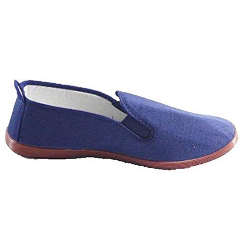 Pantofole per tai chi, yoga e Kunfu Irabia blu navy taille 46