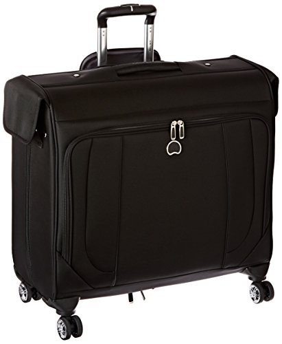 Delsey Luggage Helium Cruise Spinner Trolley Garment Bag, Black, One Size (Garment Travel Bag On Wheels compare prices)