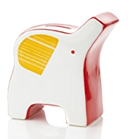 Modern Baby Ceramic Elephant Money Box
