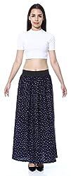 Navy Blue Small Dot skirt