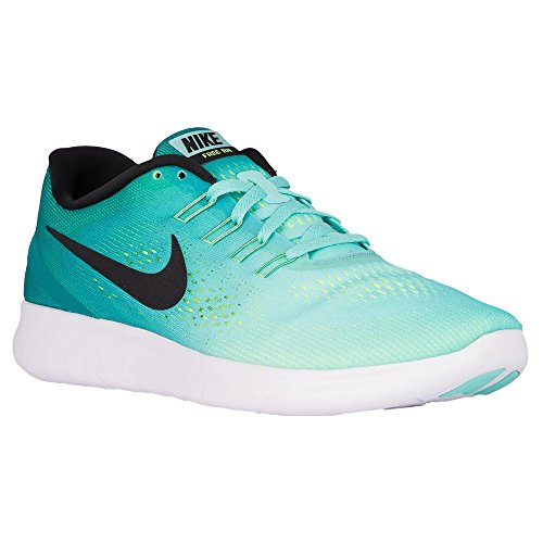 Nike Men's Free Rn Running Shoe (10.5 D(M) US, Hyper Turq/Black-Rio Teal-Volt)