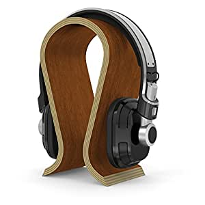 Kosee 017 wooden display stand headphone holder for electronics - Wooden headphone holder ...