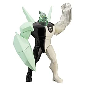 Ben 10 - 15cm DNA Alien Heroes - Diamondhead