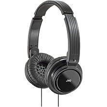 buy Jvc Has200B On-Ear Foldable Headphone, Black