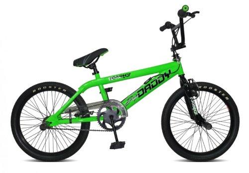 20-BMX-Rooster-Big-Daddy-Spoked-4-Farben-Model-2012-4-x-Stunt-Pegs-360-Grad-Rotor-Farbegrn