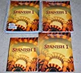 img - for Bob Jones Spanish 1 Set: Student Text, Activities Manual, and Teacher's Editions book / textbook / text book