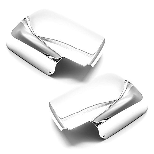 Sizver Chrome Door Mirror Cover For 2008-2013 Nissan Rogue (Nissan Rogue Mirror compare prices)