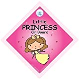 Little Princess On Board Little Princess On Board Car Sign Princess Car Sign Baby on Board Sign Baby On Board Princess on Board Princess Car Sign Little Princess Car Sign Bumper Sticker Decal Baby Sign Baby Car Signs