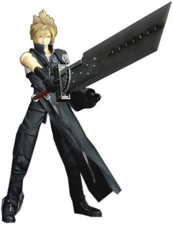 Picture of Kotobukiya Final Fantasy VII Advent Children Cloud Strife Action Figure (B000EDV8JU) (Kotobukiya Action Figures)