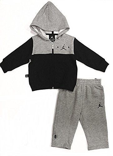Nike Air Jordan Baby Hooded Sweatsuit (12 Months) (Jordan Toddler Clothes compare prices)