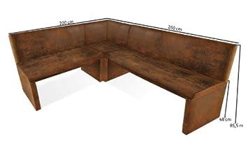 sam eckbank wilson wildlederoptik stoff eine seite 200 cm. Black Bedroom Furniture Sets. Home Design Ideas