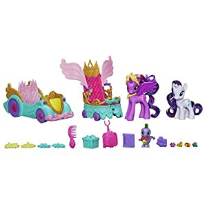 My Little Pony - A3993E240 - Poupée - Carrosse de Princesse Twilight Sparkle