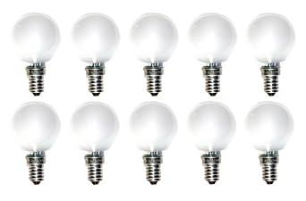 Ncc licht 10 lampadine a incandescenza a goccia e14 25 for Lampadine incandescenza