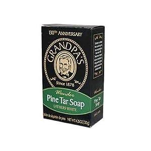 GRANDPA'S BRANDS, Pine Tar Soap Bath Size - 4.25 oz