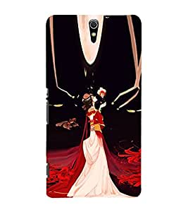EPICCASE cindrella Mobile Back Case Cover For Sony Xperia C5 (Designer Case)