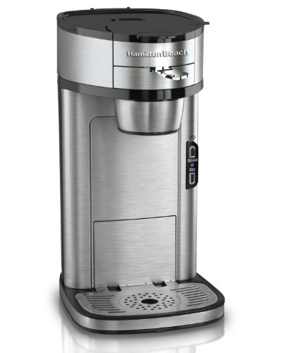 New Hamilton Beach Single Serve Scoop Coffee Maker
