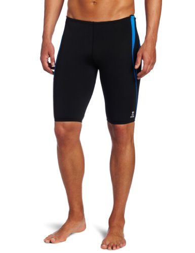 tyr-mens-alliance-durafast-splice-jammer-swim-suit-black-blue-36
