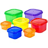 Portion Control Containers / Kit for Weight Loss (7pcs) With COMPLETE E-GUIDE, Leak Proof, Ideal Food Storage Containers for Meals & Diet, Suitable as Lunch Boxes & Food Savers, Get Fit Today!