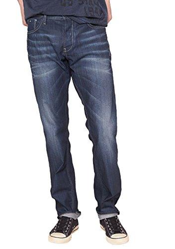 QS by s.Oliver Herren Straight Leg Jeans 40.409.71.8470, Gr. W38/ L32 (Herstellergröße: 38), Blau (denim 58Y5)